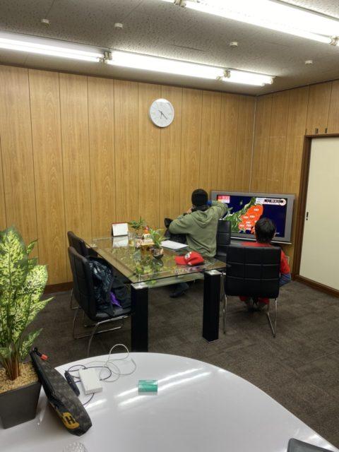 事務所を作り始めました!